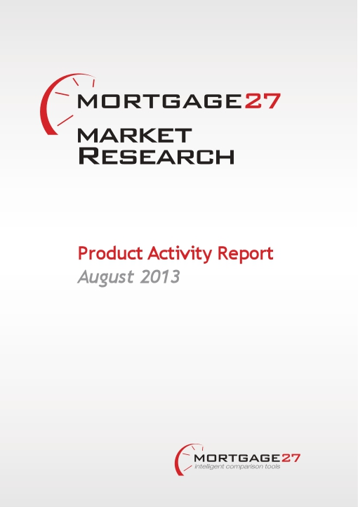 Mortgage Market Research Product Activity Report: August 2013