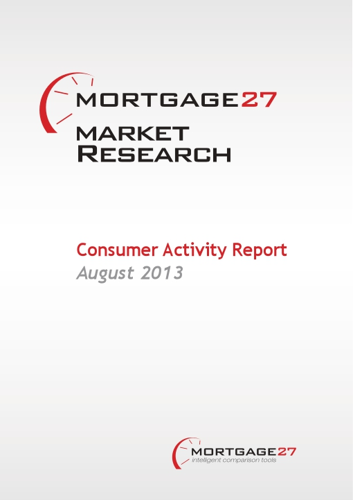Mortgage Market Research Consumer Activity Report: August 2013