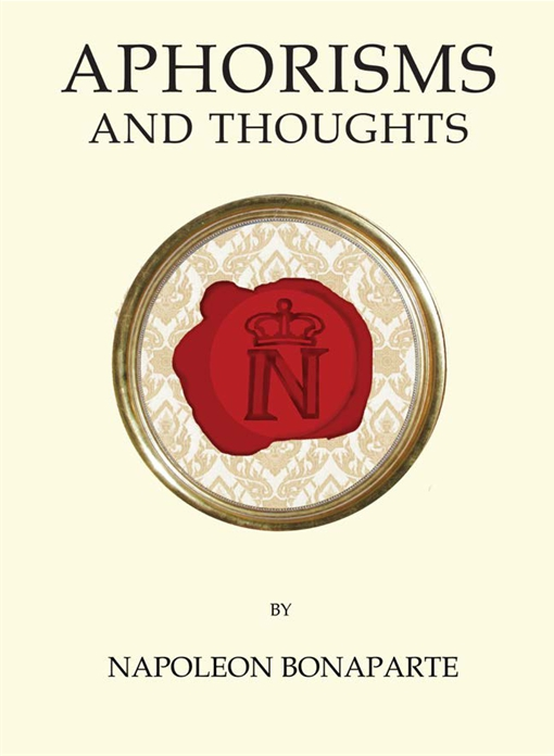 Aphorisms and Thoughts