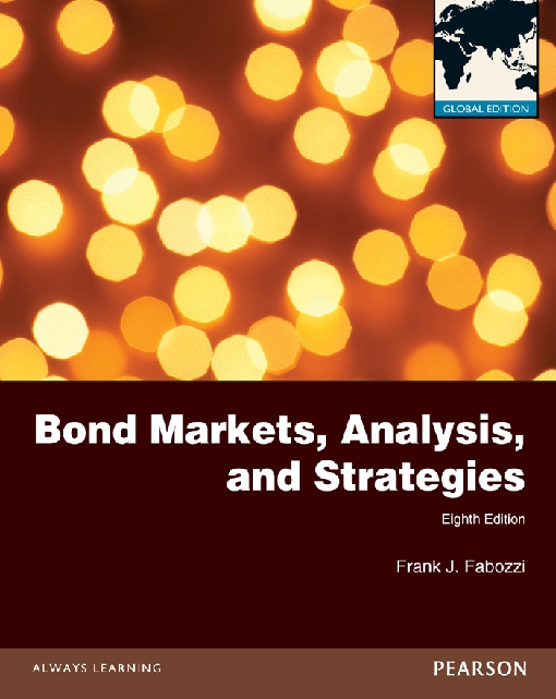 Bond Markets, Analysis and Strategies