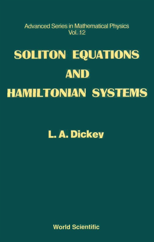 Soliton Equations and Hamiltonian Systems
