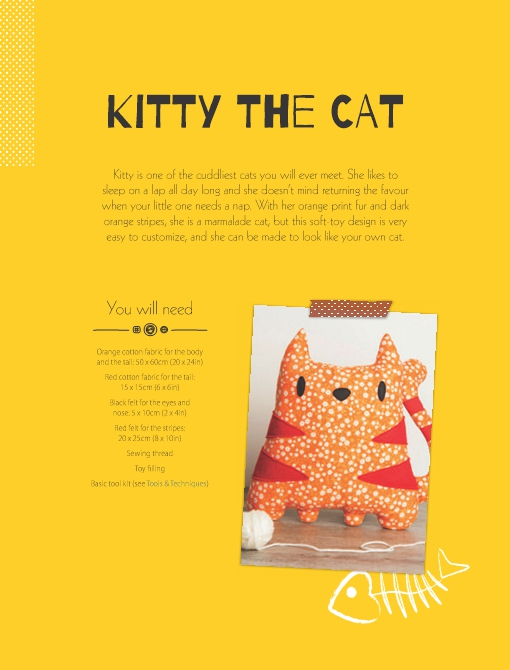 Kitty the Cat Soft Toy Pattern