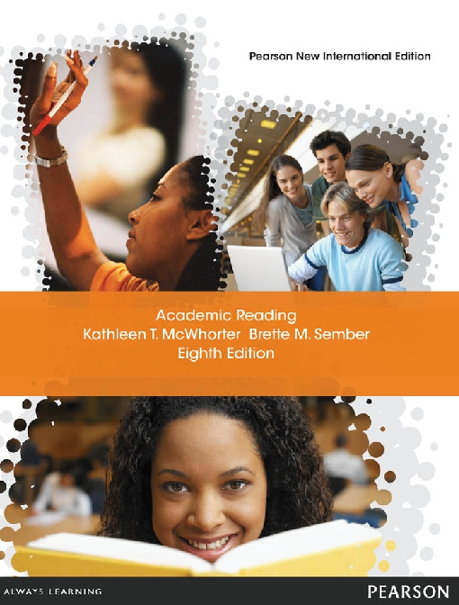 Academic Reading: Pearson New International Edition