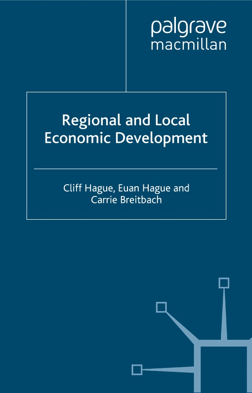 Regional and Local Economic Development