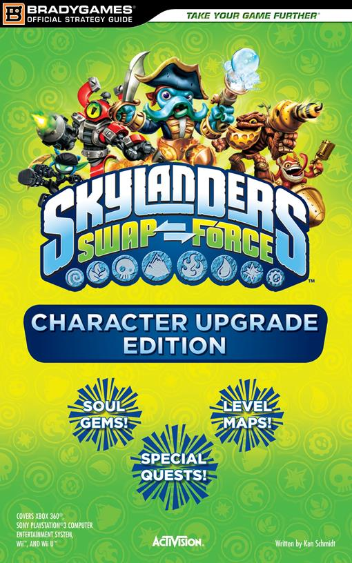 Skylanders SWAP Force Character Upgrade Edition