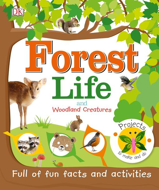 Forest Life and Woodland Creatures, (EPUB3)