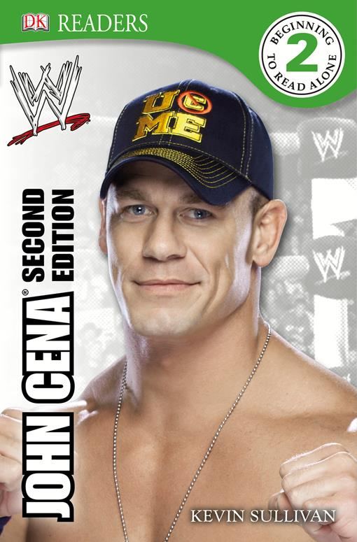 DK Reader Level 2:  WWE John Cena, (EPUB3)