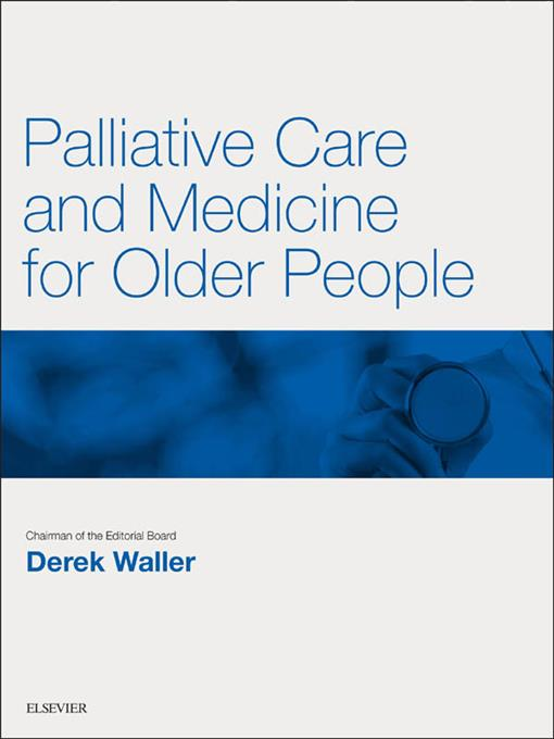 Palliative Care and Medicine for Older People