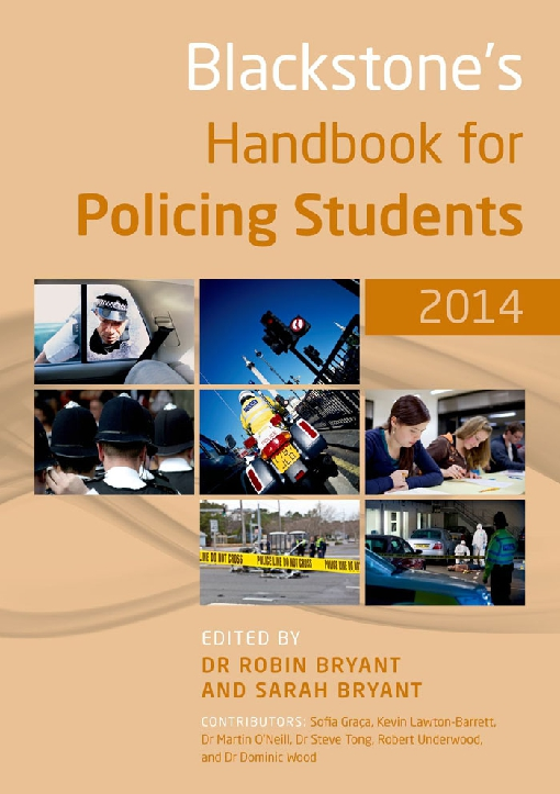 Blackstone's Handbook for Policing Students 2014