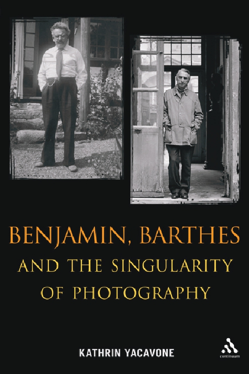 Benjamin, Barthes and the Singularity of Photography