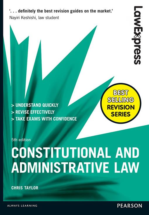 Law Express: Constitutional and Administrative Law, (EPUB3)