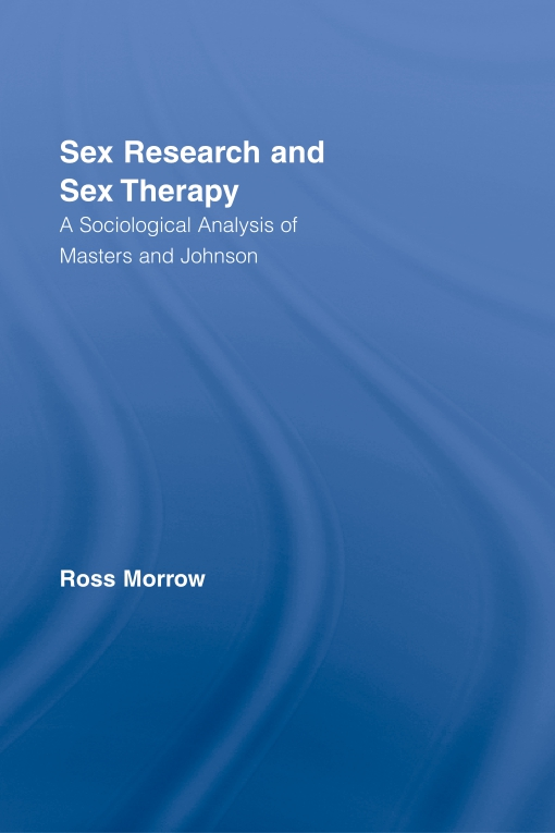 Sex Research and Sex Therapy