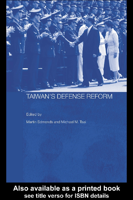 Taiwan's Defense Reform