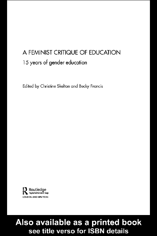 Feminist Critique of Education