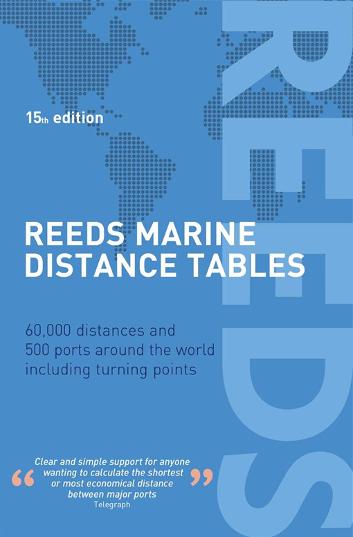Reeds Marine Distance Tables 15th edition