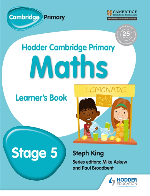 Hodder Cambridge Primary Maths Learner's Book 5