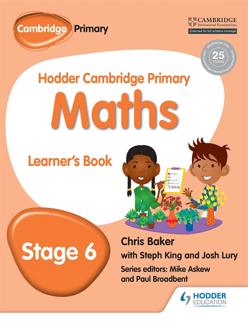 Hodder Cambridge Primary Maths Learner's Book 6