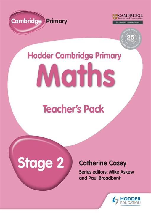 Hodder Cambridge Primary Maths Teacher's Pack 2