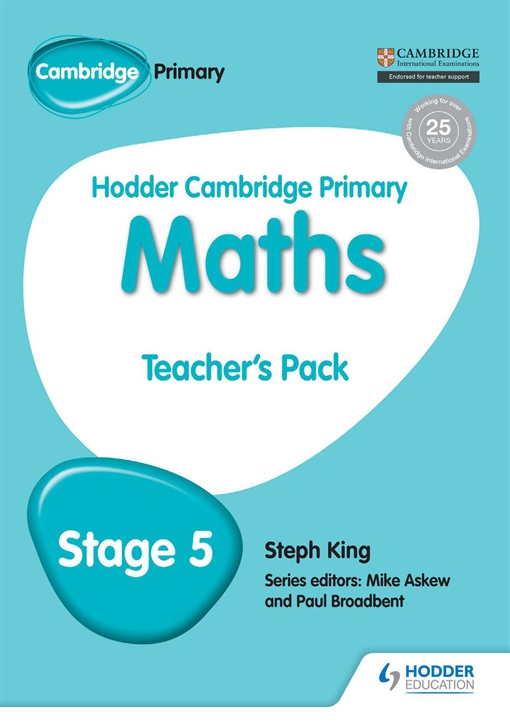 Hodder Cambridge Primary Maths Teacher's Pack 5
