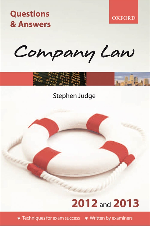 Questions & Answers: Company Law 2012 and 2013