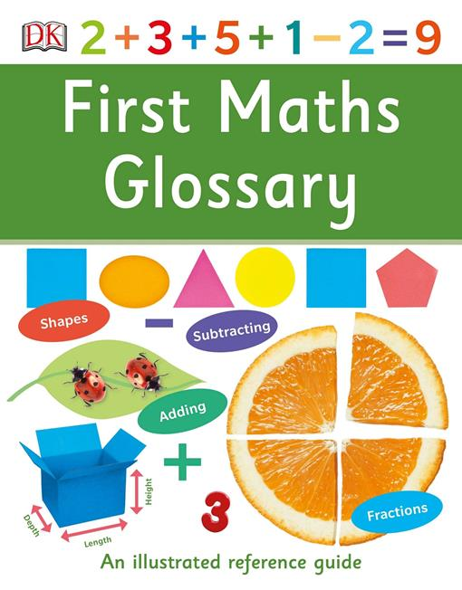 First Maths Glossary, (EPUB3)