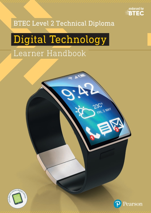 BTEC Level 2 Technical Diploma Digital Technology Learner Handbook with ActiveBook