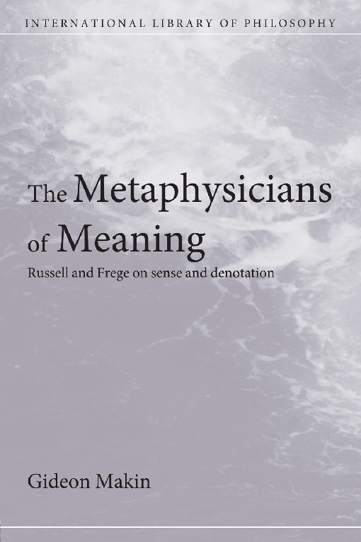Metaphysicians of Meaning