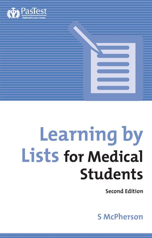 Learning by Lists for Medical Students