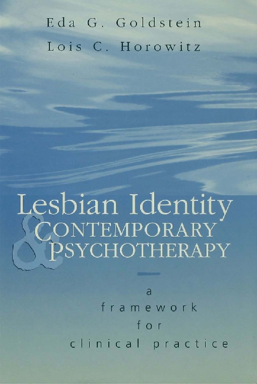 Lesbian Identity and Contemporary Psychotherapy