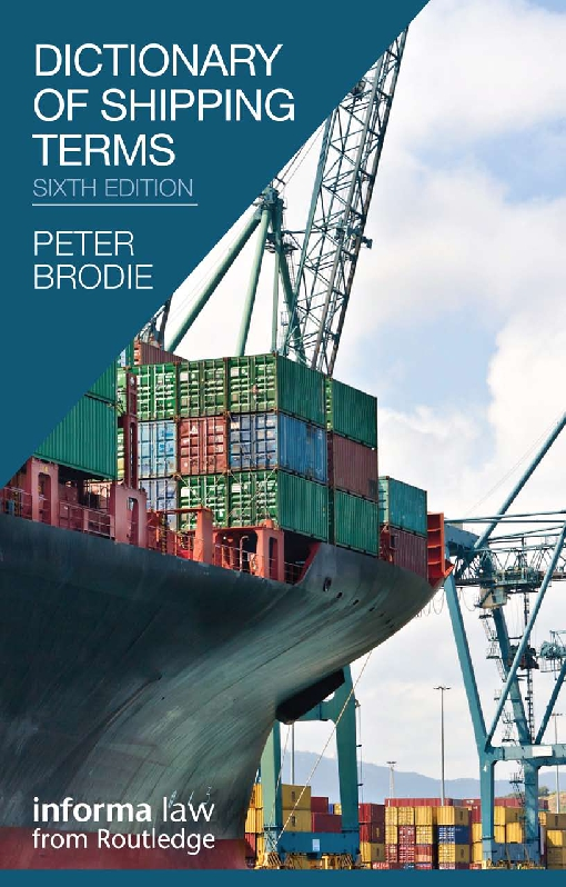 Dictionary of Shipping Terms, 6th Edition