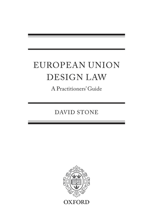 European Union Design Law: A Practitioners' Guide