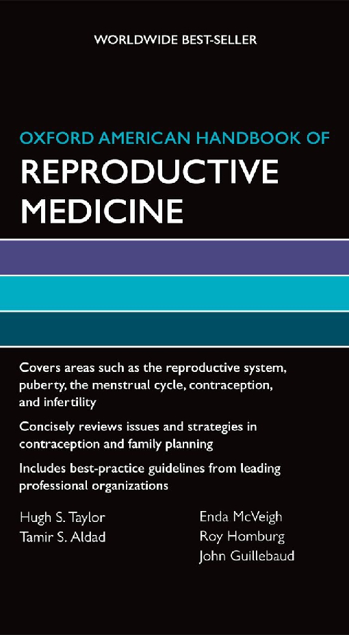 Oxford American Handbook of Reproductive Medicine