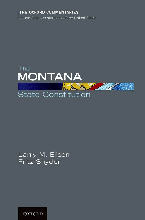 The Montana State Constitution
