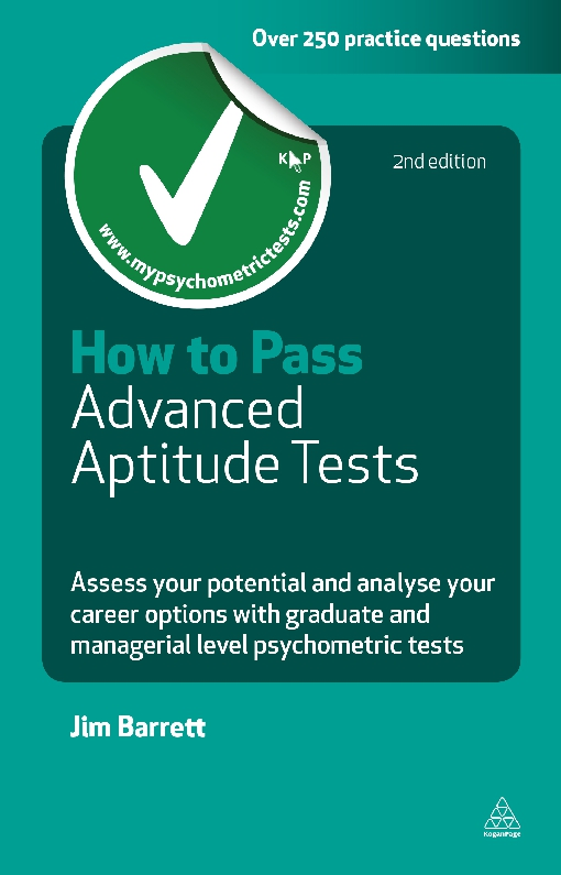 How to Pass Advanced Aptitude Tests