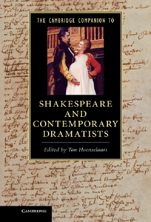 The Cambridge Companion to Shakespeare and Contemporary Dramatists
