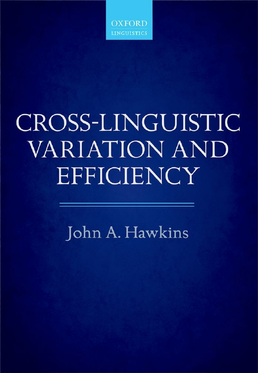 Cross-Linguistic Variation and Efficiency