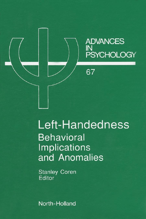 Left-Handedness: Behavioral Implications and Anomalies