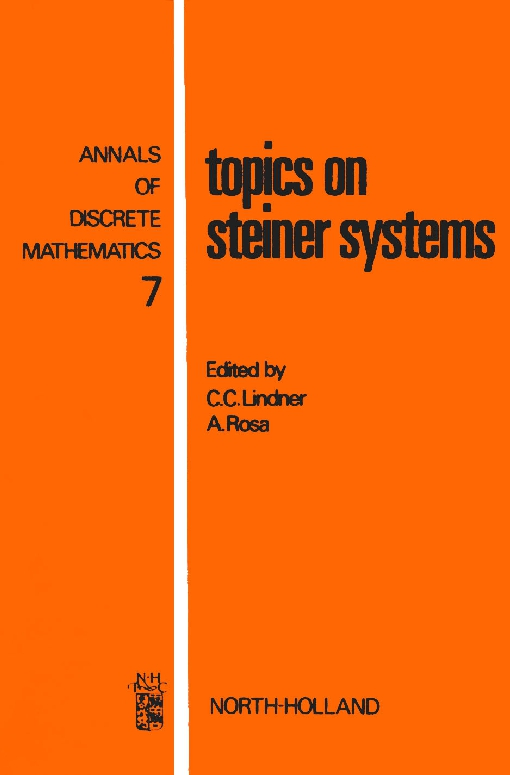 Topics on Steiner Systems