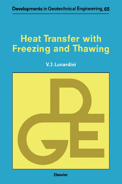 Heat Transfer with Freezing and Thawing