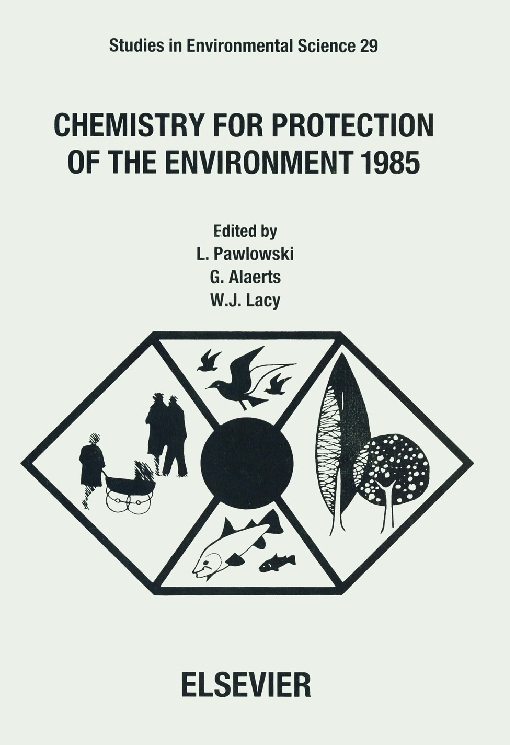 Chemistry for Protection of the Environment 1985