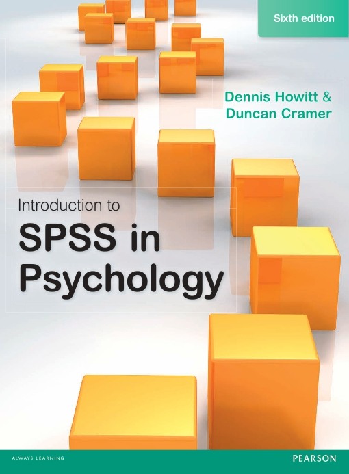 Introduction to SPSS Statistics in Psychology