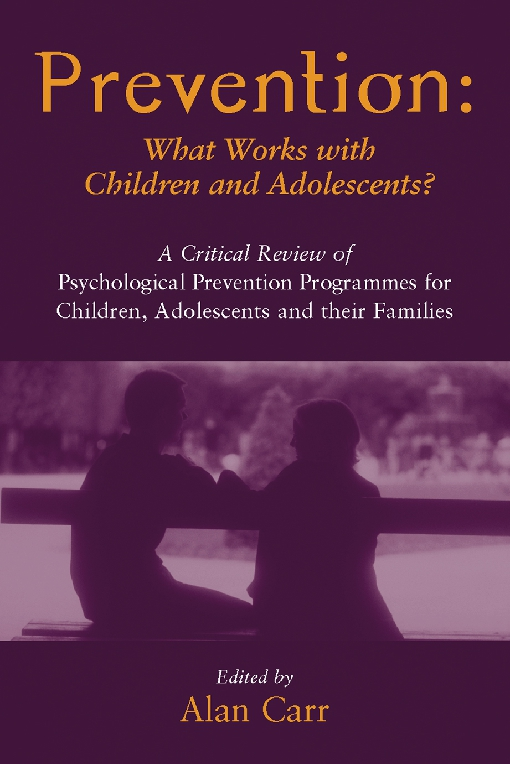 Prevention: What Works with Children and Adolescents