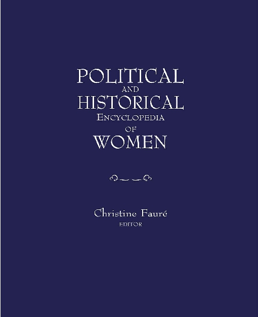Political and Historical Encyclopaedia of Women