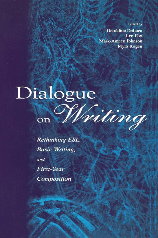 Dialogue on Writing