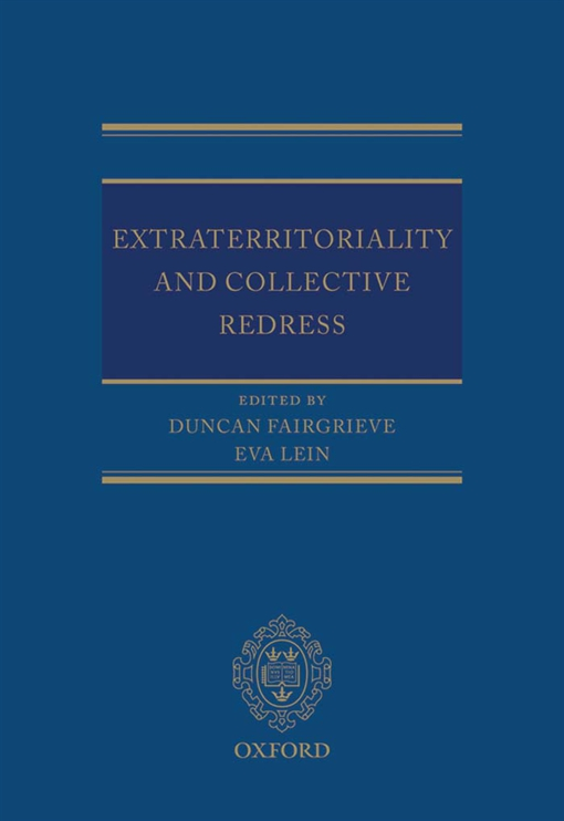 Extraterritoriality and Collective Redress