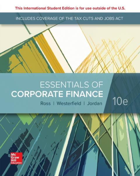 ISE EBOOK ONLINE ACCESS FOR ESSENTIALS OF CORPORATE FINANCE