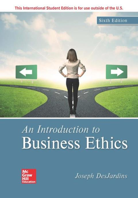 ISE EBOOK ONLINE ACCESS FOR AN INTRODUCTION TO BUSINESS ETHICS