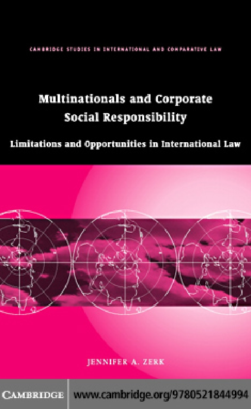 Multinationals and Corporate Social Responsibility