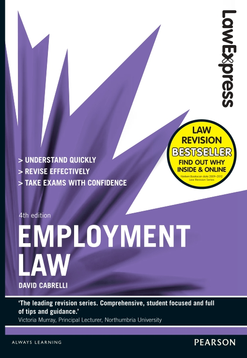 Law Express: Employment Law (Revision Guide)