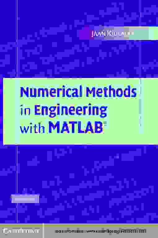 Numerical Methods in Engineering with MATLAB?